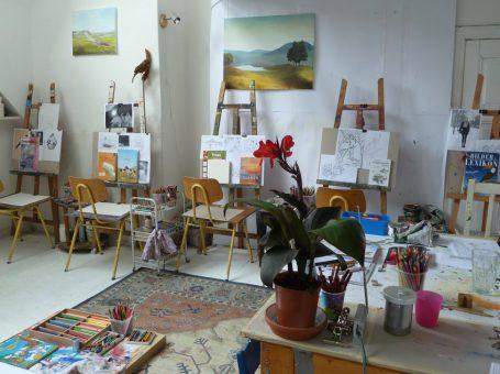 Kunstatelier für Kinder und Jugendliche in Berlin Friedenau