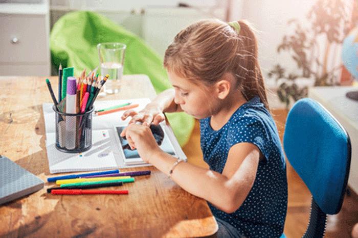 Digital malen, lernen und spielen