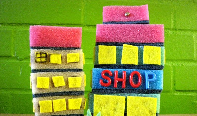 """Stadtmacher-Monat """" Stadt & Spiel"""" im Labyrinth Kindermuseum"""