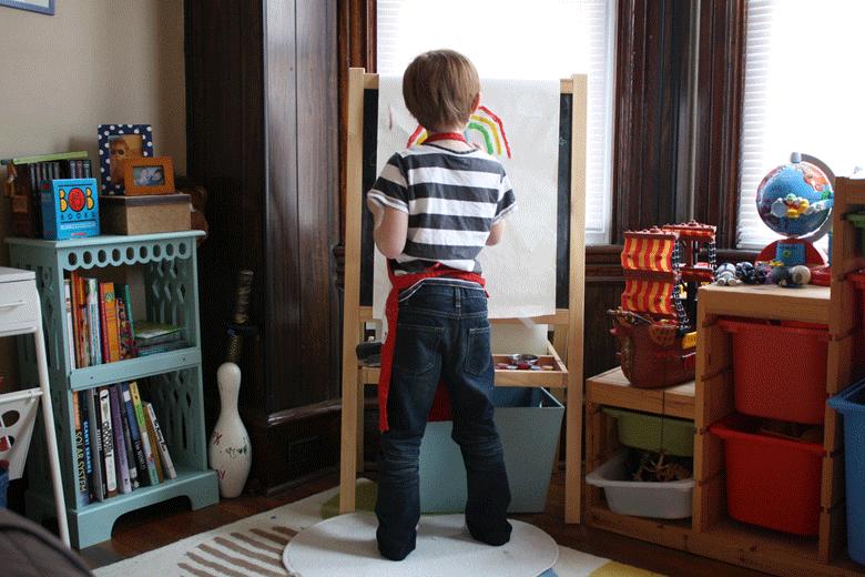 Buntes Kinderzimmer – so bringen Sie den Kleinen Farben näher