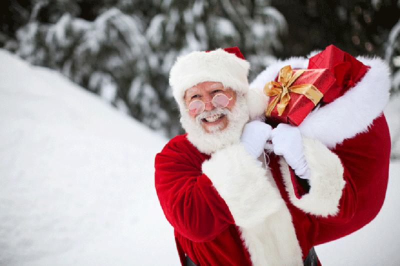 Das besondere Geschenk zu Weihnachten: Der Weihnachtsmann kommt zu Besuch