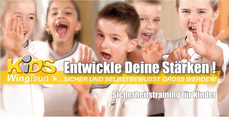 KIDS-WingTsun-Kurs für Kinder