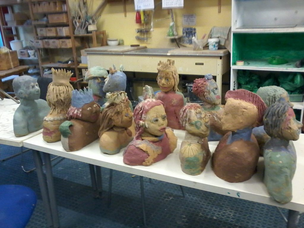 Keramik für kreative Kids