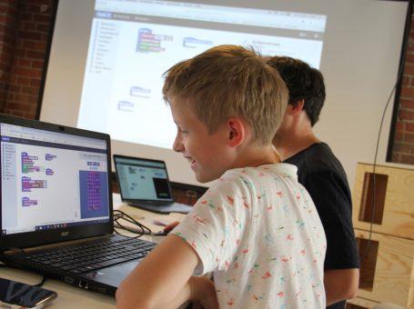 Ferien-Programmier-Workshop für Kinder ab 9 Jahren