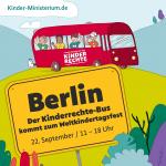 Kinderrechte-Bus beim Weltkindertagsfest