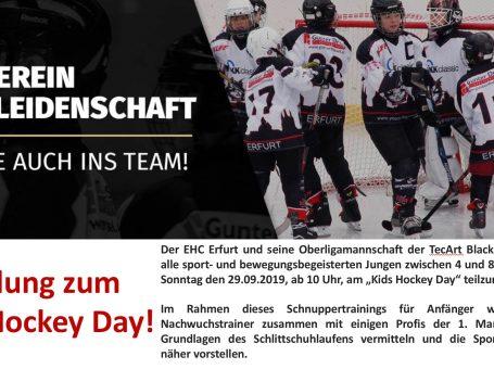 Kids Hockey Day
