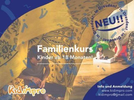 Familienkurs – Bewegung und Improvisation – Kinder ab 18 Monate