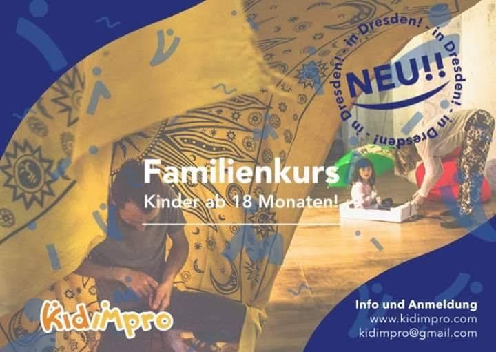 Familienkurs - Bewegung und Improvisation - Kinder ab 18 Monate