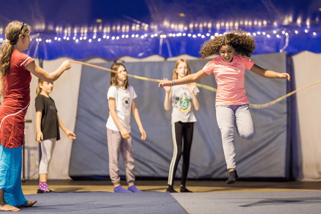 Zirkusferien im Herbst bei CABUWAZI Marzahn, Woche 2