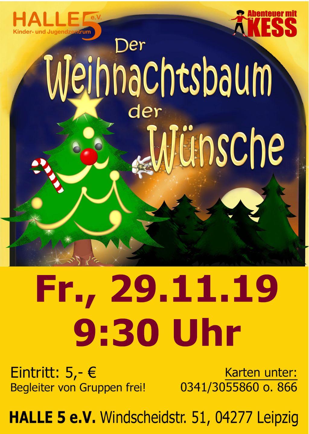 Der Weihnachtsbaum der Wünsche