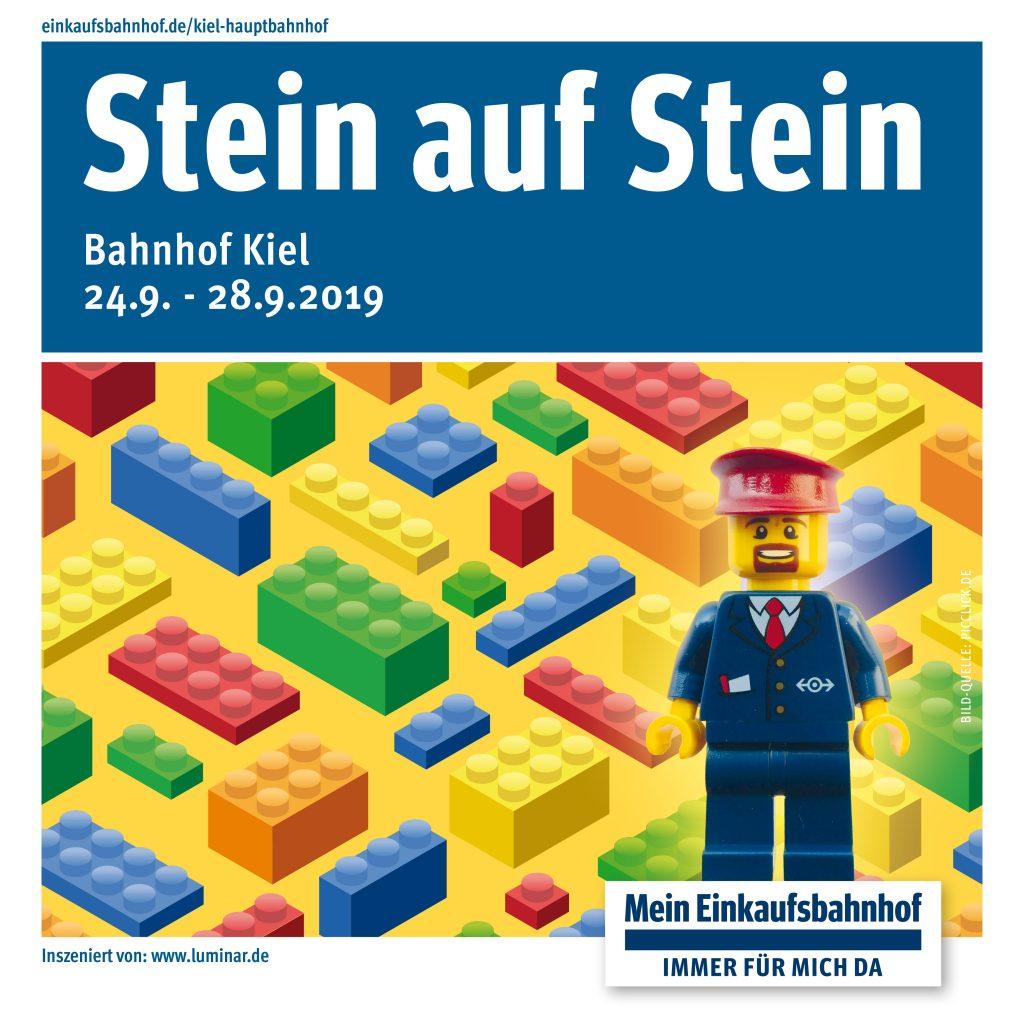 Stein auf Stein 2019: Der kreative Bahnhof für Groß und Klein kommt!