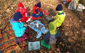 Kindergeburtstag für Jungen und Mädchen in der Natur