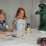 Workshop im Mineralien-Museum: Die Dinos sind los...
