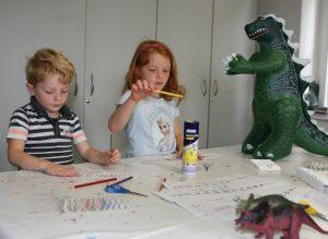 Workshop im Mineralien-Museum: Die Dinos sind los…