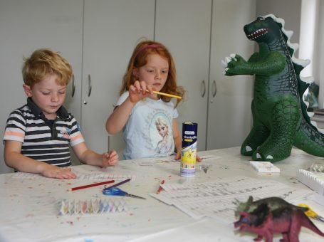 Workshop im Mineralien-Museum: Die Dinos sind los…