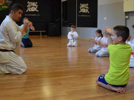 Kinder Karate im Shinzen Dojo in Berlin Steglitz