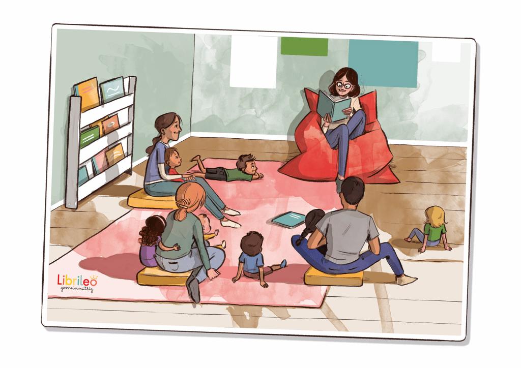 Librileo Lesestunde im Interkulturellen Familienzentrum