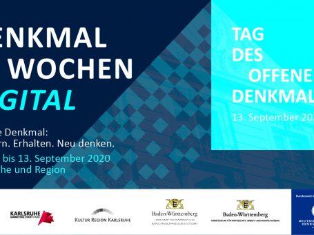 Karlsruher Denkmalwochen 2020