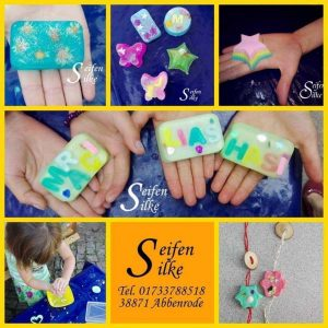 Kreativer Kindergeburtstag mit und bei SeifenSilke