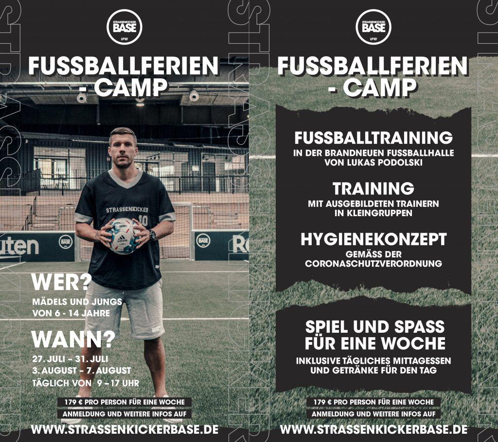 STRASSENKICKER BASE Fussballferiencamp