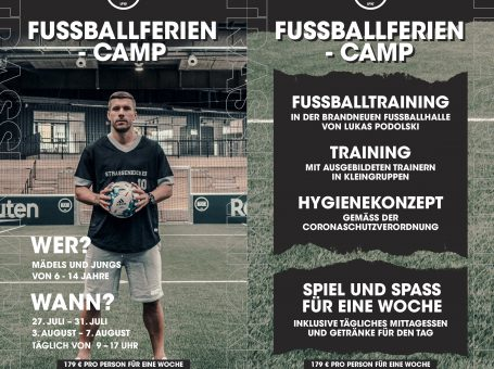 STRASSENKICKER BASE Fussballferiencamp