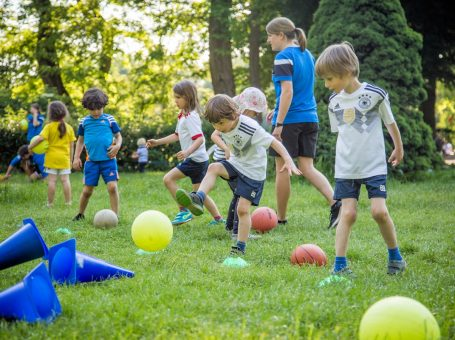 Fuß[Ballinos] für Kinder ab 2 Jahren