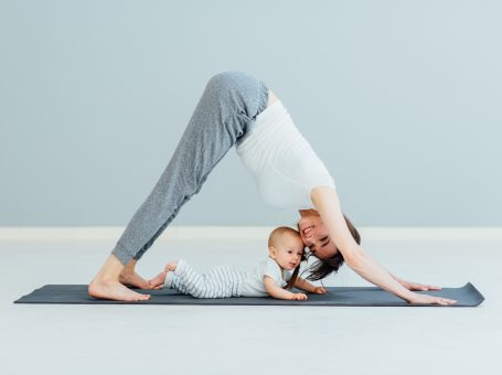 Fitness für Mamas und Papas mit Baby