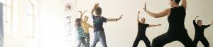 Kampfkunst-Familientraining