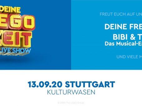 Deine LEGO® Zeit – die Live-Show!