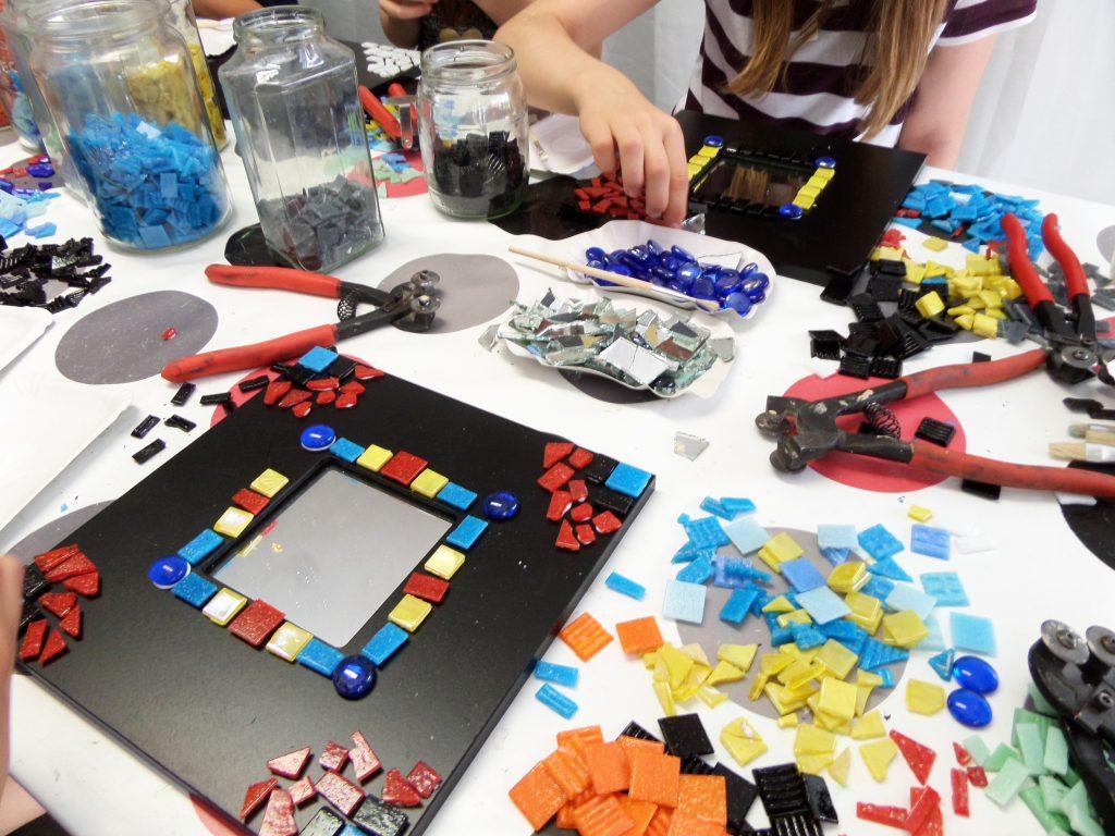 Kinder-Mosaik-Workshop