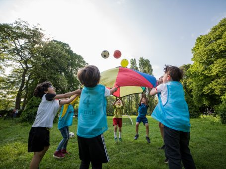Ballschule für Kinder ab 2 Jahren