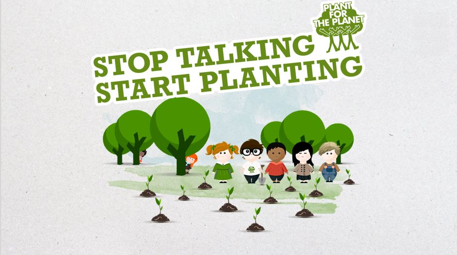 """Plant-for-the-Planet Akademie """"Sachsen pflanzt online"""""""