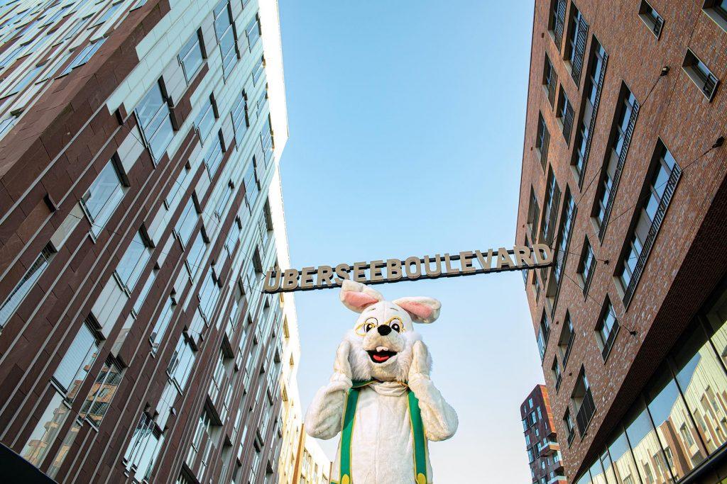 Ostern in der HafenCity – Hansi Hase kommt