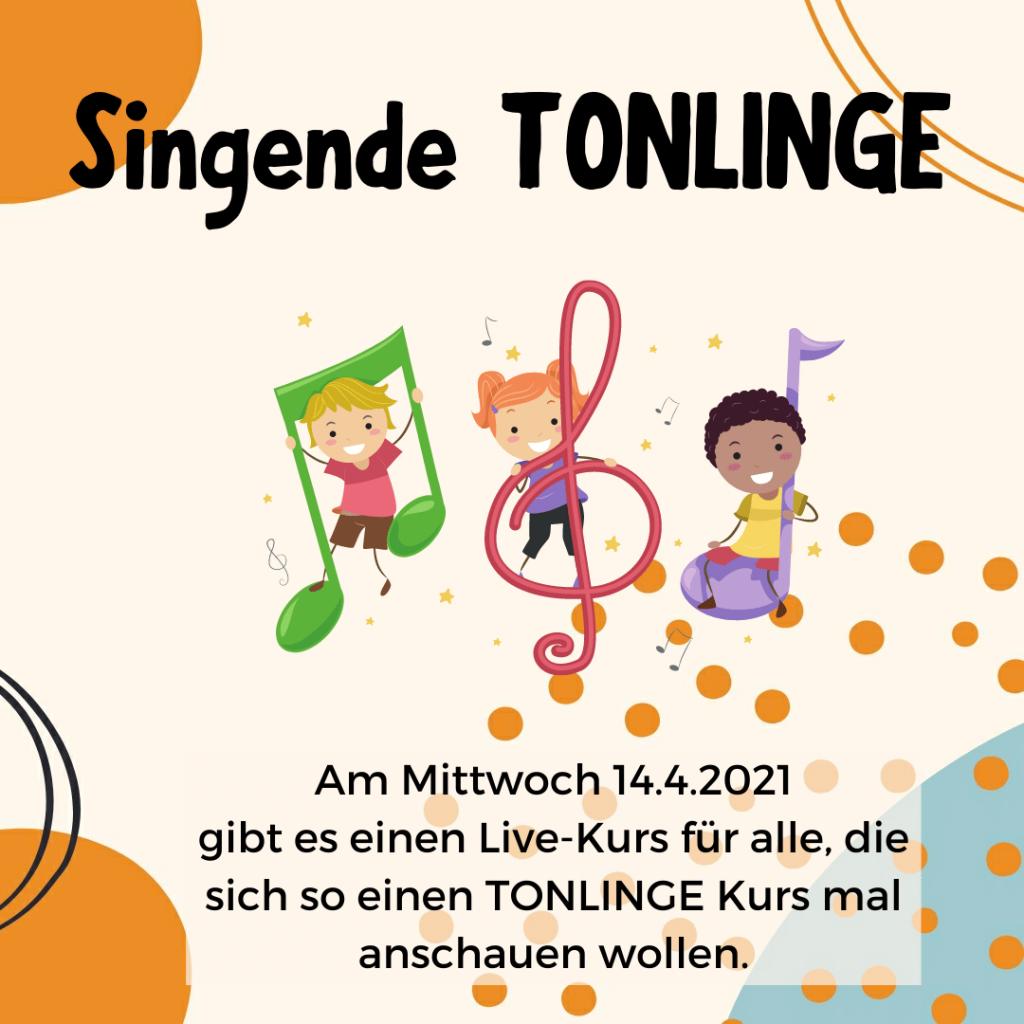 TONLINGE Livemusikkurs: Singend und klingend in den Sommer