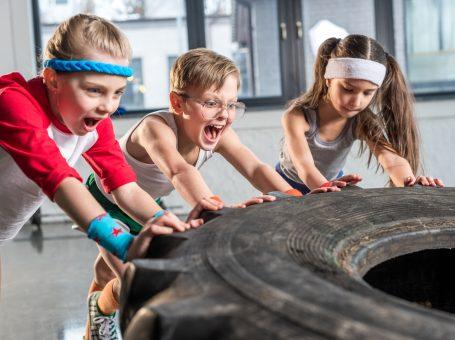 Outdoor Fitness Kids im Sportpark Ostra Dresden
