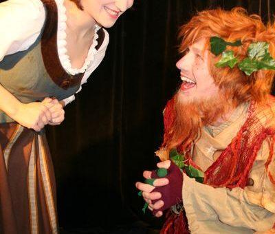 Das Kindertheater Wackelzahn spielt Rumpelstilzchen