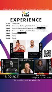 I AM – Stronger Together Experience live Confidance mit Jini & Detlef D! Soost